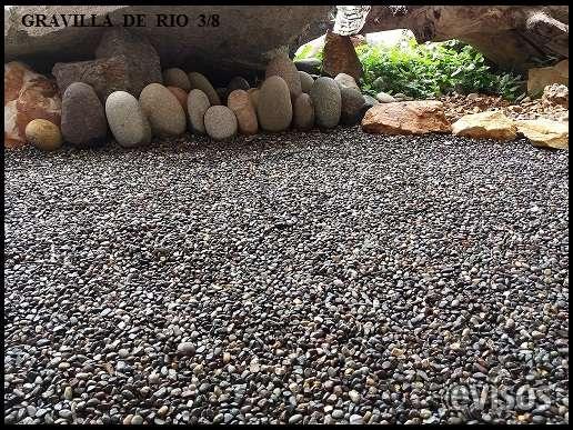 Jardines piedras decorativas good diseo de jardines con - Piedras decorativas de jardin ...
