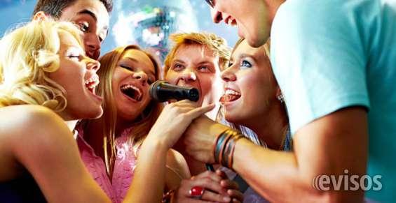Arriendo sistema de karaoke para su evento