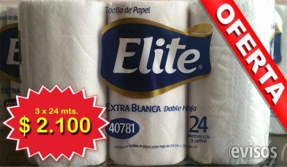 """Cada paquete contiene 3 rollos de 24 metros cada uno de toalla de papel (tipo """"toalla nova""""), extra blanca, doble hoja. estos 3 rollos son grandes, convenientes y muy rendidores. no se comparan con algunos productos que solo ofrecen rollos de 12 o 15 mts."""