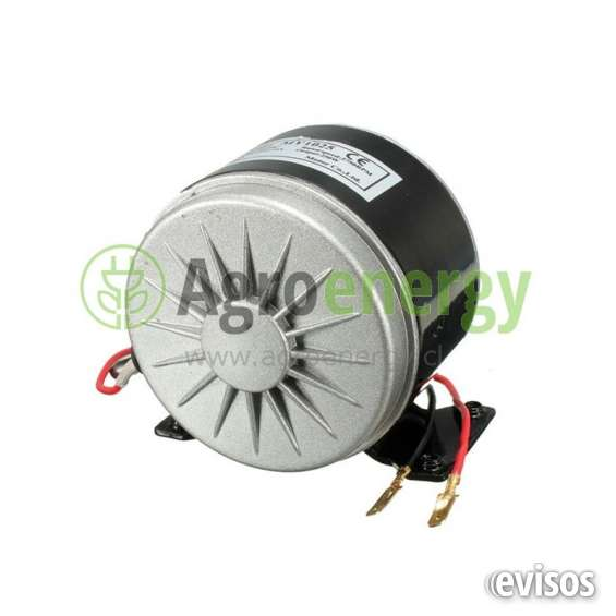 Motor eléctrico 250 watts a 24v dc con cadena