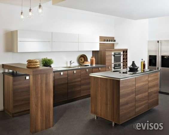 Fabricación de cocinas, closets, muebles a medida