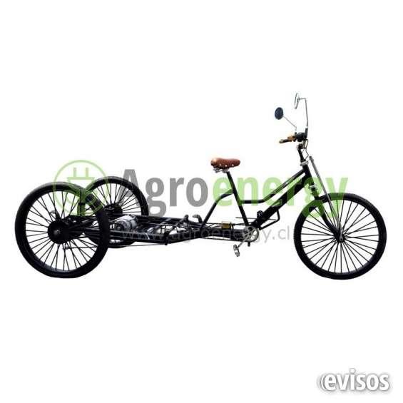 Triciclo bicicleta eléctrico (baterías no incluidas)