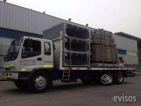 Camion plano de 5.000 y 10.000 kilos