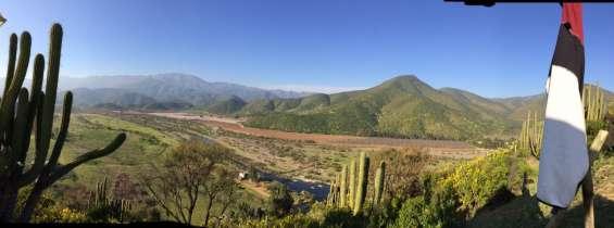 Vendo hermoso valle de 18 hectáreas en campo. lepe , curacaví. mucha agua.