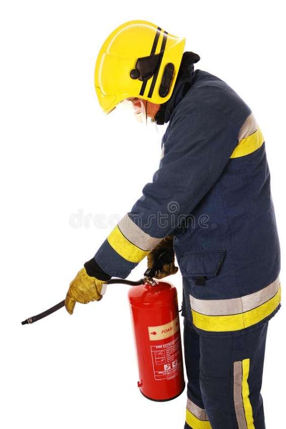 Manejo de emergencia y uso de extintores.