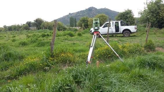 Servicios de topografia, loteos, subdivision, gt mesuras