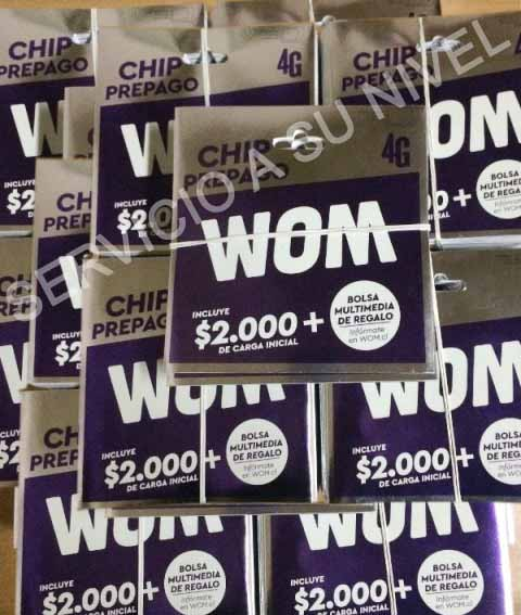 Chip wom (ventas por mayor)