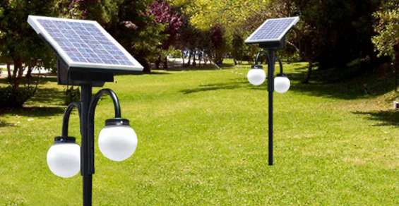 Venta luminarias poste solar