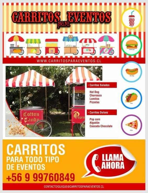 Carritos de hot dog en santiago
