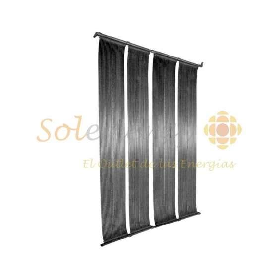 Panel solar flexible temperado de piscina caucho epdm
