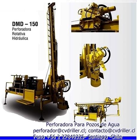 Maquina de perforacion de pozo profundo