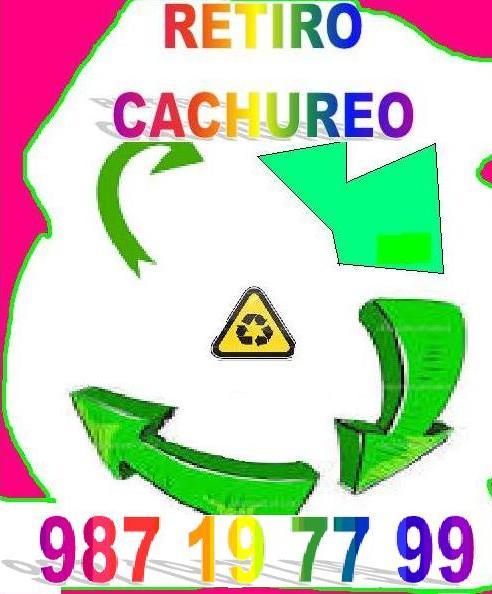 Desperdicios y cachureos varios retiro93480 8793 todo santiago.---