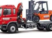 Arriendo grúas horquilla, camion & mini-cargador 2