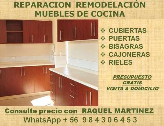 Reparación mueble de cocina en Providencia - Otros Servicios | 663241