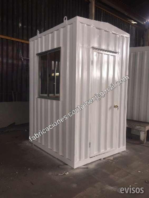 Caseta de vigilancia container