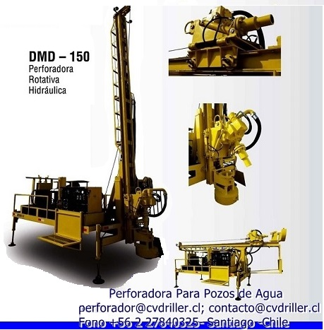 Maquina de perforacion pozos profundos