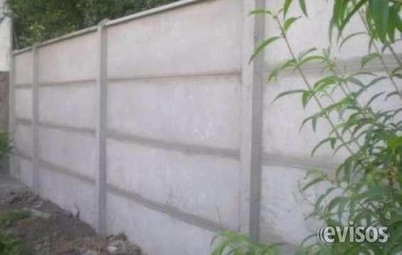 Fabrica de muros de hormigón