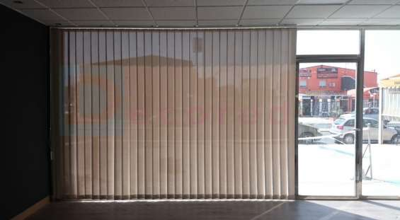 Cortinas verticales en telas rústica, screen y blackout. decored cortinas y persianas