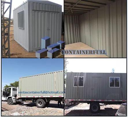 Bodega container estructuras reforzadas