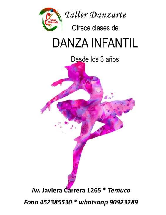 Danza infantil - ballet infantil en temuco