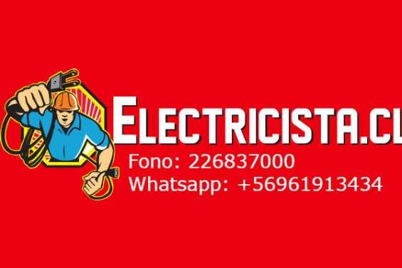 Electricista a domicilio en todas las comunas