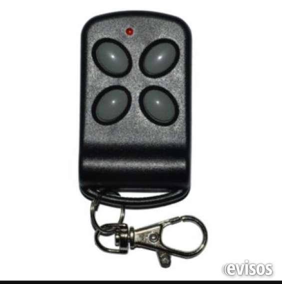 Controles remotos para portones automaticos