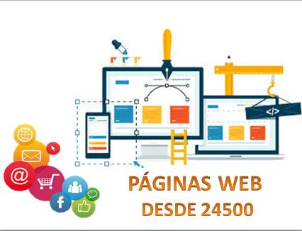 Páginas web autoadministrables desde 24500