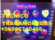 Tecnico maquinas de juego santiago(rm) y regiones (todochile)