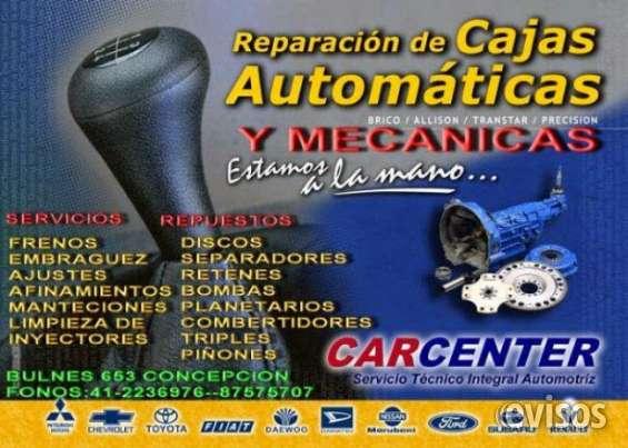 Cajas automaticas venta y reparacion