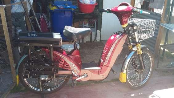 Totalmente funcional bicicleta electrica