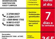 FUMIGACION DEPARTAMENTOS-Atencion 24horas todos los dias-URGENCIAS