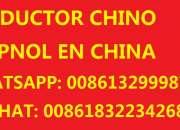 Intérprete traductor chino español en shanghai, china  intérprete traductor chino español