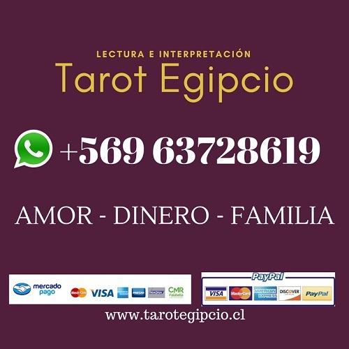 Tarot egipcio +569 6372 8619