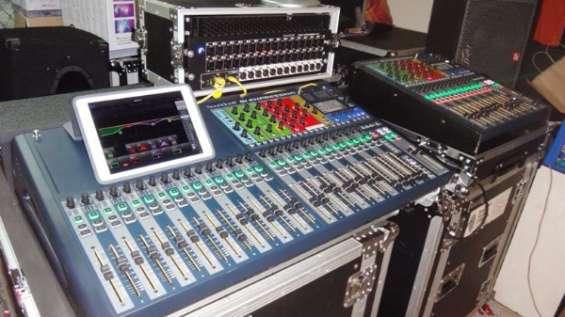 Digitales mezcladores y equipos de audio behringer yamaha soundcraft midas