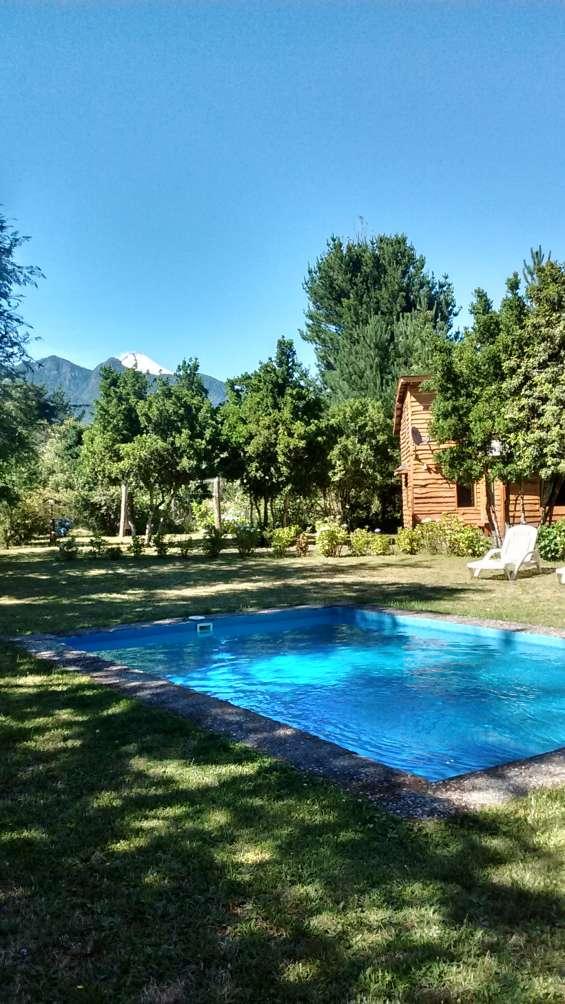 Cabañascon piscina en pucón