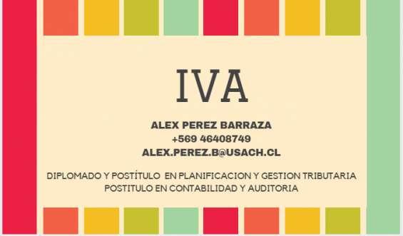 Impuestos mensuales para empresas - iva