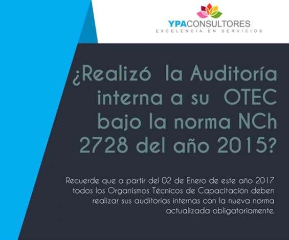 ¿necesita un auditor interno para su sistema de gestión de calidad bajo la norma nch 2728