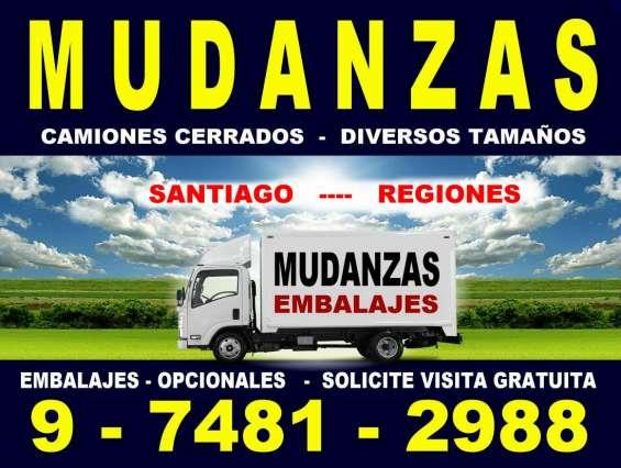 Mudanzas - embalajes - bodegajes - santiago - regiones