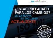 ASESORÍA IMPLEMENTACIÓN ISO 9001 2015  V REGIÓN / REGIÓN METROPOLITANA