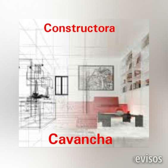 Construcciones, ampliaciones, casas, locales.