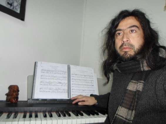 Clases particulares a domicilio de guitarra, piano, flauta