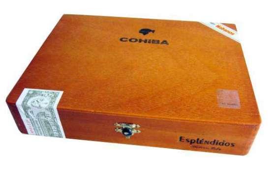 El cofre de cohiba esplendido trae 25 tabacos