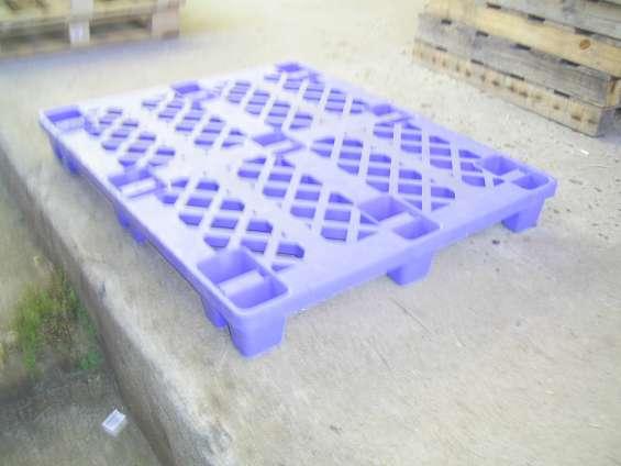 Venta de pallets plásticos y de madera reacond.100% operativos, desde $3500+iva