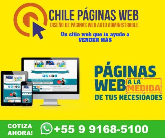 Diseño de páginas web   diseño web chile   páginas web y tiendas virtuales