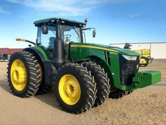 John deere 8370r tractor agricola de 407 hp