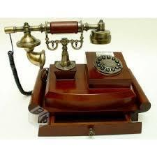 Telefonos de madera