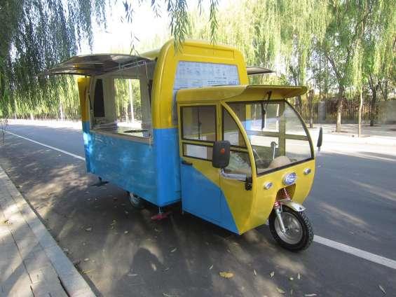 Moto food truck electrica