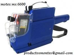 Maquina etiquetadora  motex 6600
