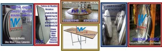 Mesas cuadradass y rectangulares