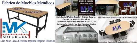 Mesas rectangulares